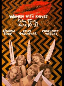 Women With Knives 2014 Film Tourposter.